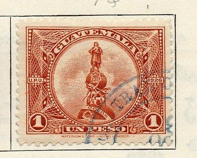 Guatemala 1926 Early Issue Fine Used 1P. 087597