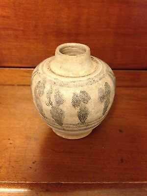 Ancient Antique Chinese Song Dynasty 11th Century Style Small Vessel Pottery Wow