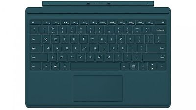 Microsoft Surface Pro 4 Type Cover Keyboard for Surface Pro 3 4 Tablets Teal New