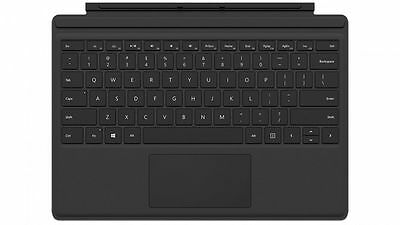 Microsoft Surface Pro 4 Type Cover Keyboard for Surface Pro 3 4 Tablets Black