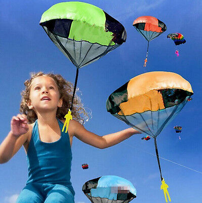 Outdoor Hand Children's Educational Toys Throwing Parachute Play Toy Mini Kids