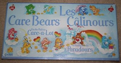 Extremely Rare 1983 Care Bears Path to Care-A-Lot Board Game French/English NOS