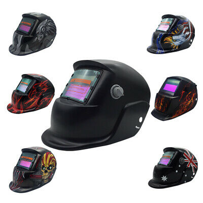 New Solar Auto Darkening Welding Helmet Mask ARC TIG MAG High Quality AU