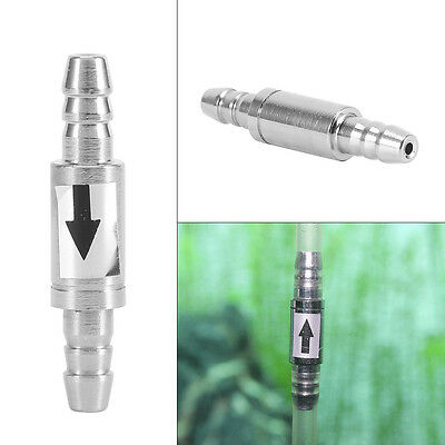 1PC One Way Stainless Steel Check Valve For Aquarium Co2 System / Air Pump