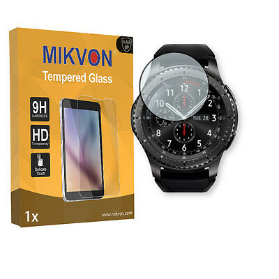1x Mikvon Tempered Glass 9H for Samsung Gear S3 Frontier Screen Protector
