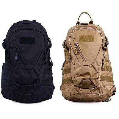 20L Outdoor Military Tactical Backpack Rucksack Camping Bag Travel Hiking New AD