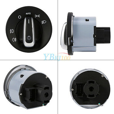 Hot Headlight Fog Light Power Auto Switch 1Z0941431K For Skoda Octavia 2004-2013