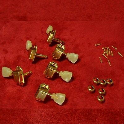 Single Ring Tuning Machine Heads Set 59 LP Gold Time Machine fits to Les Paul®