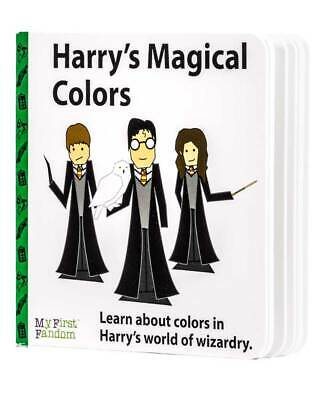 Harry's Magical Colours Baby Kids Board Book Harry Potter Fandom Cool Present