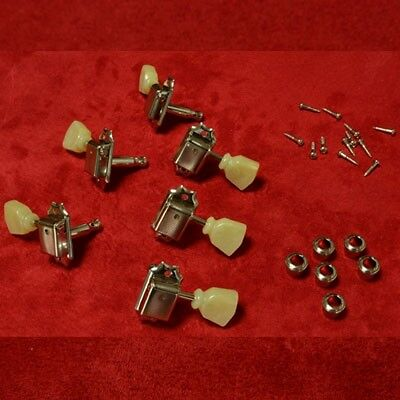Tuning Machines 59 LP Nickel Single Ring Vintage Tuners Montreux Time Machine