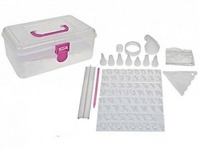 Get Baking! Cake Decorating Press Set With Carry Case