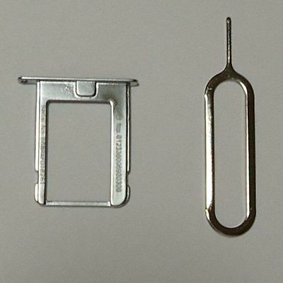 Metal Micro Sim Card Slot Tray Holder For iPhone 4 4G 4S 4GS.....
