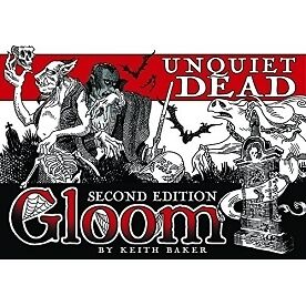 Gloom Card Game Unquiet Dead 2nd Edition Expansion - Brand new!