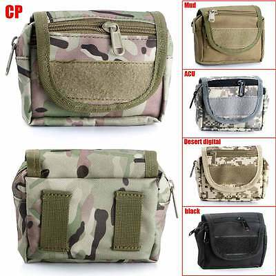 Waterproof Military Tactical Hanging Waist Fanny Pack Bum Belt Bag Pouch Purse