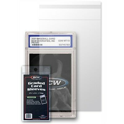 Graded Card Sleeves, Resealable x 100 pack
