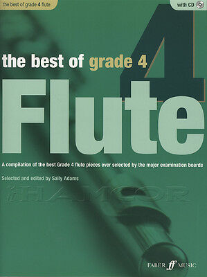 The Best of Grade 4 Flute Sheet Music Book with CD & Piano Accompaniment