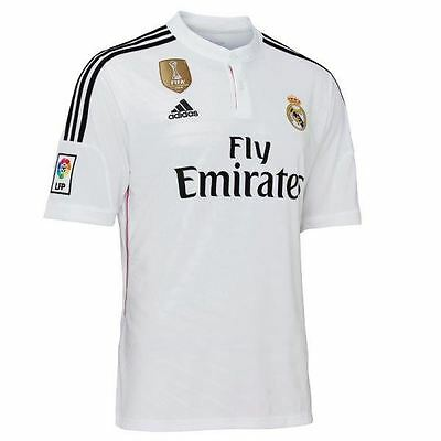 adidas WC Real Madrid Home Jersey S51063~Football/Soccer~Mens~UK XS TO XL Only