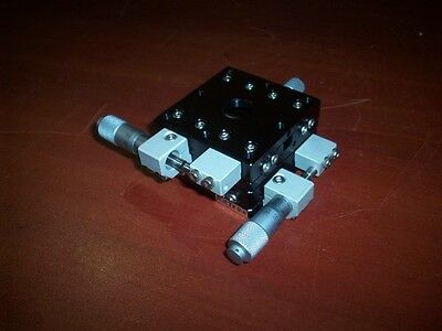 Qty. 2  MMT Linear Positioner  Stage M1-637-R1    Precision X-Y Stage