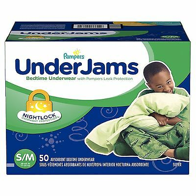 Pampers UnderJams Bedtime Underwear for Boys PICK SIZE