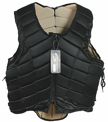 Adult Horse Riding Body Protector With Adjustable Side Laces S To Xxl