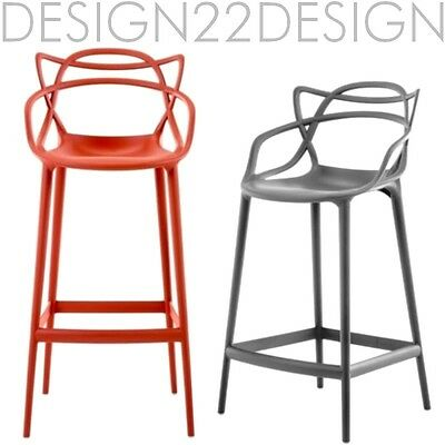 kartell masters stool barhocker sitzh he 65 cm kunststoff neu ovp eur 277 00 picclick de. Black Bedroom Furniture Sets. Home Design Ideas
