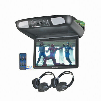 """Planet Audio LCD Monitor 10.1"""" Overhead Roof Car Media DVD Player SD USB MP3"""