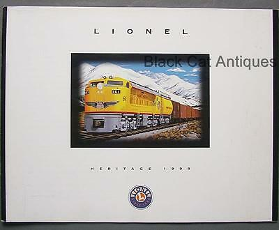 Original 1998 Lionel Heritage Model Trains & Accessories Catalog with Prices