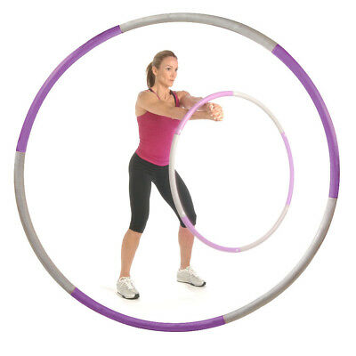 BodyFit By Sports Authority 2.5lb Weighted Hula Hoop Fitness Workouts Exercises