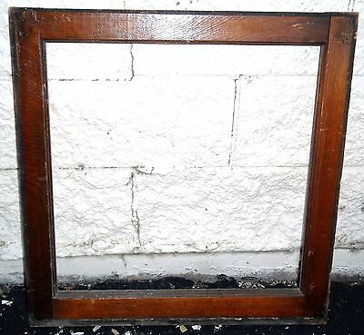 Transom Windows Frame Antique Vintage Old Art Deco Leaded Crafts Repurpose