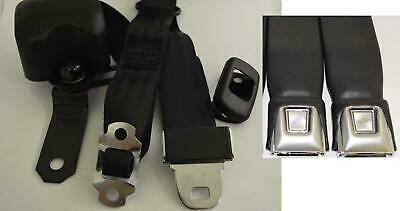 Morris Classic 3 Point Shoulder Front Seat Belt 66-73 El Camino with Bucket Seat