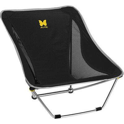 Alite Mayfly 2.0 Unisex Adventure Gear Camping Chair - Black One Size