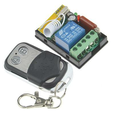 Wireless Remote Control AC 220V 1CH  Relay Receiver Transmitter for Garage Door