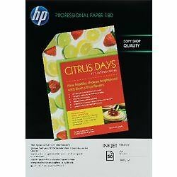 HP A4 Gloss Professional Inkjet PhotoPaper 160gsm - Pack of 50 sheets
