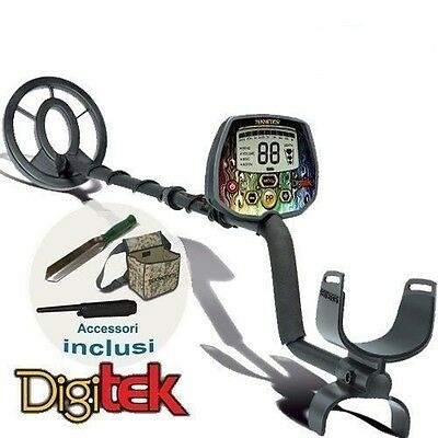 Metal Detector Teknetics DigiTek with accessories Included For Boys and Children
