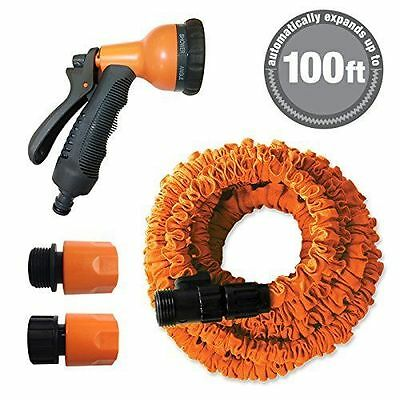 NEW 100ft Expandable Stretch Garden Hose (AS SEEN ON TV