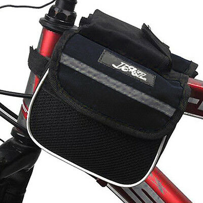 CF830 JSZ Cycling Bicycle Bike Frame Pannier Saddle Front Tube Bag Double Sides