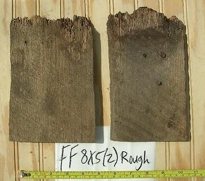 1 Antique Barnwood Board #FF8x5(2)Rough Oak Wood Projects for Christmas Holidays