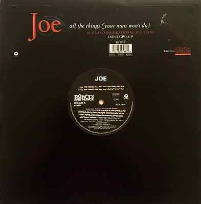 "JOE - All The Things (Your Man Won't Do) (12"") (VG/VG)"