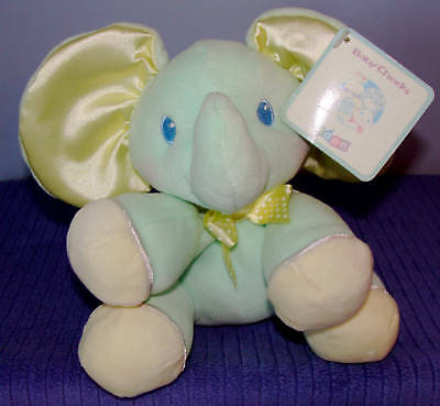 Eden Baby Cheeks Elephant Inner Rattle New W/tags ~ F