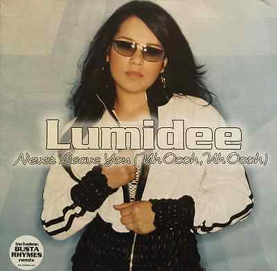 "LUMIDEE - Never Leave You (Uh-Oooh) (12"") (VG-/EX)"