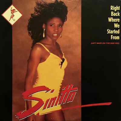 "SINITTA - Right Back Where We Started From (12"") (VG/VG)"