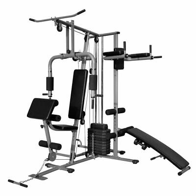 New Multi-functional Home Gym All-In-One Pull Down Bench Press Chest Shoulder