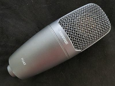 Shure Pg42 Large Diaphragm Cardioid Condenser Vocal Microphone