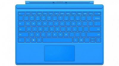 Microsoft Surface Pro 4 Type Cover Keyboard for Surface Pro 3 4 Tablets B Blue