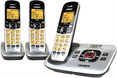 UNIDEN 3135+2 Premium DECT Digital cordless Phone System  Works During Blackouts