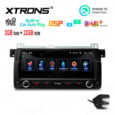 XTRONS CAR RADIO DVD GPS Navigation System 1 DIN Stereo for BMW E46 318 320  325
