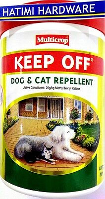 KEEP OFF GEL  DOG & CAT REPELLENT 400g Multicrop TRAIN DOGS AND CATS OFF GARDEN