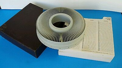 Carousel Slide Projector Tray 100 Capacity Sears Easi Load 9985