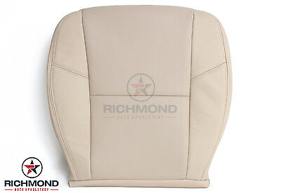 2007 Cadillac Escalade -Driver Side Bottom Replacement Leather Seat Cover Tan