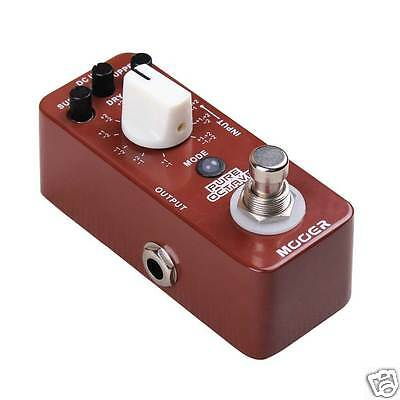 Mooer Pure Octave Electric Guitar Foot Pedal NEW